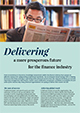 Delivering a more prosperous future for the finance indsutry